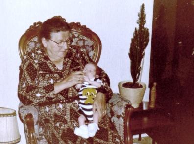 Moeder met Peter junior
