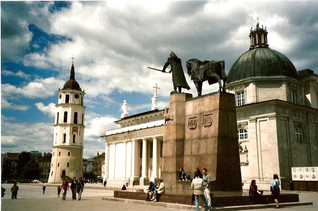 kathedraal Vilnius juni 2004