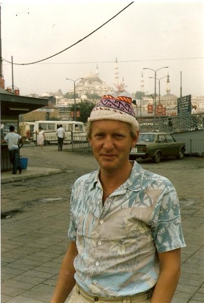 Leo in Istanboel 1986