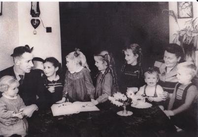 Ons gezin in 1955