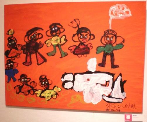 expo Veenendaal schilderij Turkse deelnemer